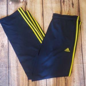 Addidas track pants euc size large